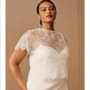 NWT Catherine Deane Wedding Gown Topper